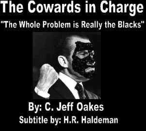 Cowards in charge book cover